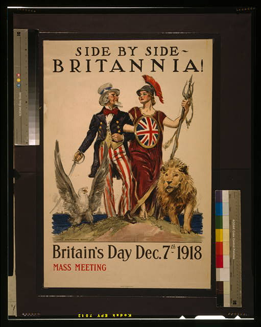 Side by side - Britannia! Britain's Day Dec. 7th 1918