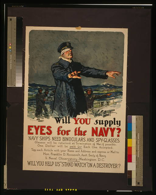 Will you supply eyes for the Navy? Navy ships need binoculars and spy-glasses