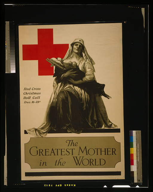 The greatest mother in the world - Red Cross Christmas roll call Dec. 16-23rd