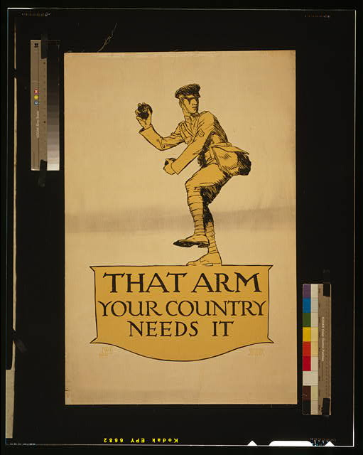 That arm - your country needs it
