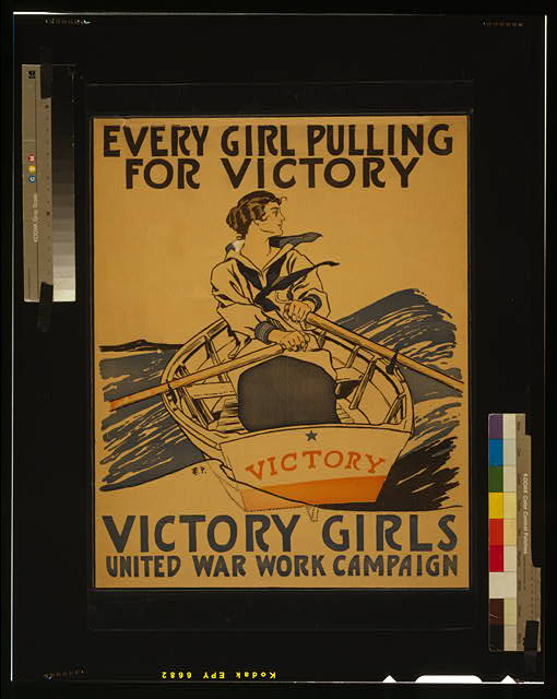 Every girl pulling for victory - Victory Girls United War Work Campaign