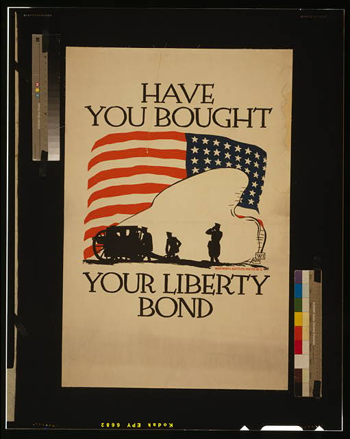 Have you bought your liberty bond