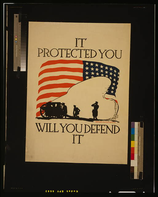 It protected you, will you defend it