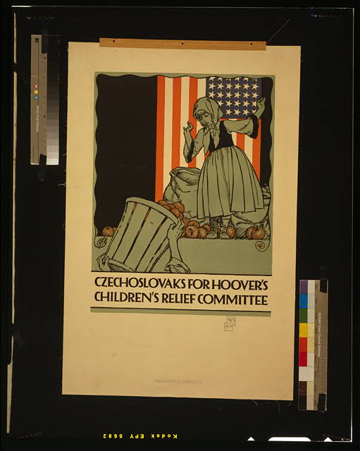 Czechoslovaks for Hoover's children's relief committee