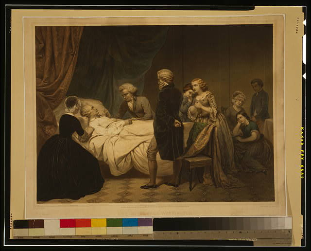 Life of George Washington The Christian death /