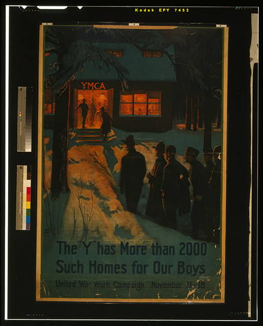 "The ""Y"" has more than 2000 such homes for our boys--United War Work Campaign, November 11-18"