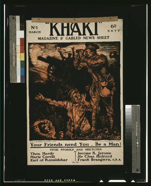 """Khaki"" magazine & cabled news sheet"