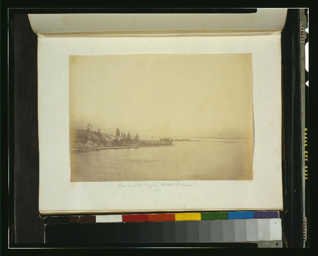 View on Lake Osoyoos, British Columbia, 1860