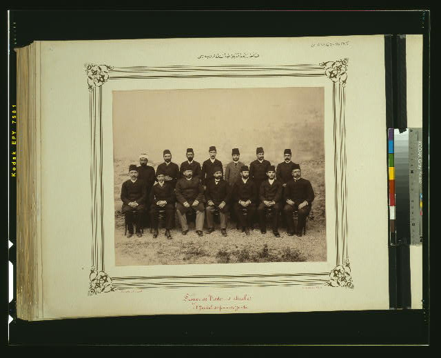 [A group photograph of the doctors of the (Hasköy) Hospital for Women]
