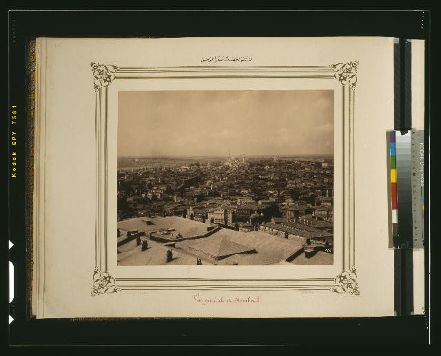 [General view of the İstanbul section]