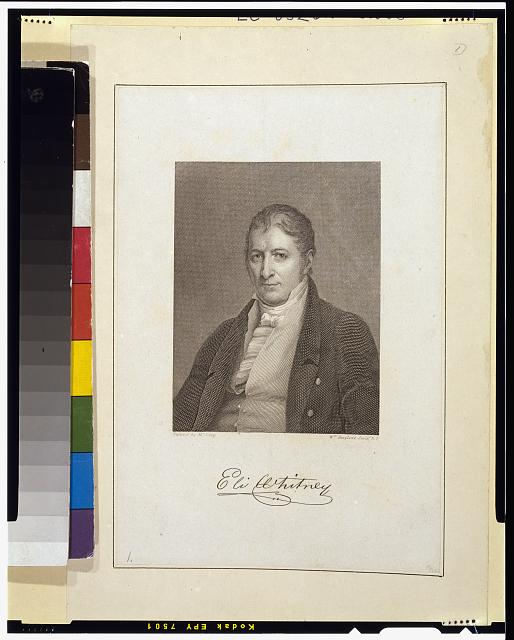 [Eli Whitney, half-length portrait, facing slightly left]