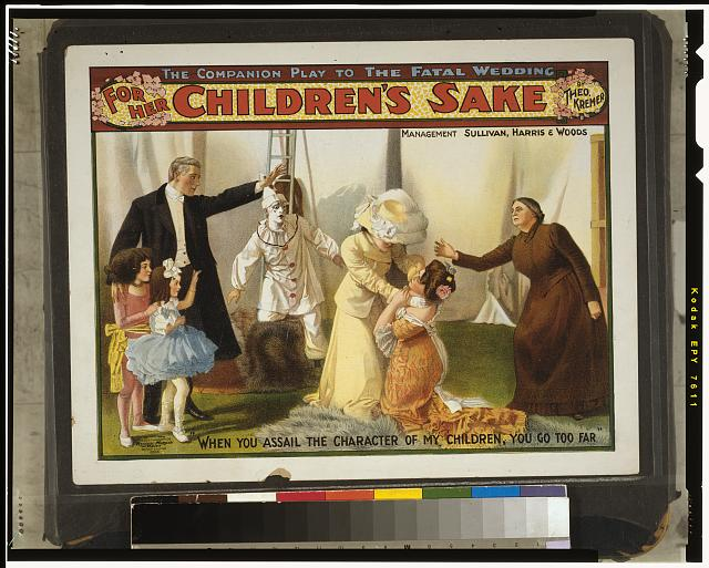 For her children's sake by Theo. Kremer : the companion play to The fatal wedding.
