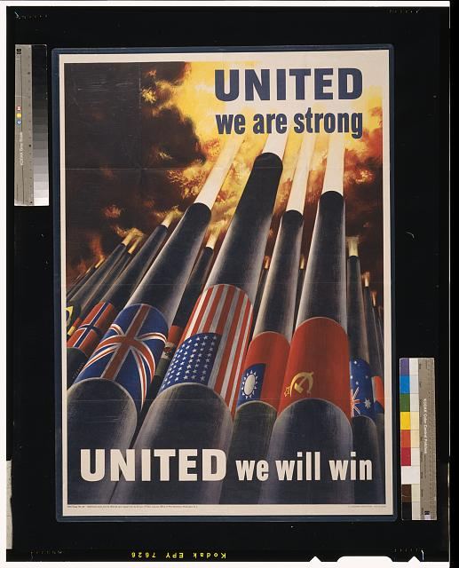 United we are strong, united we can win