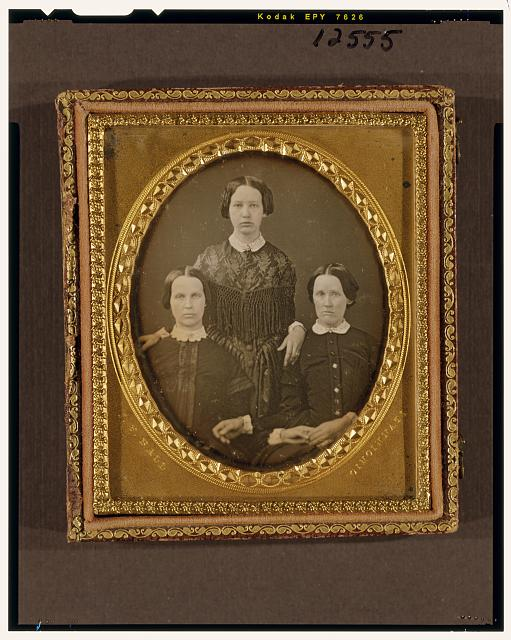 [Three unidentified woman]