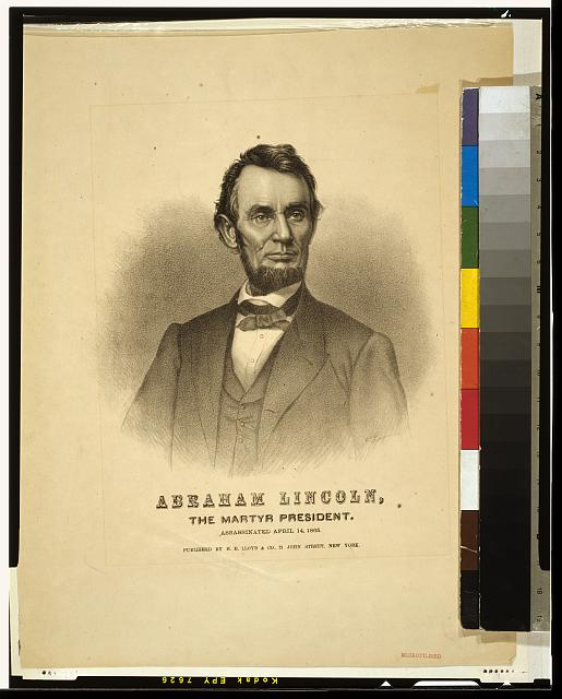 Abraham Lincoln, the martyr president