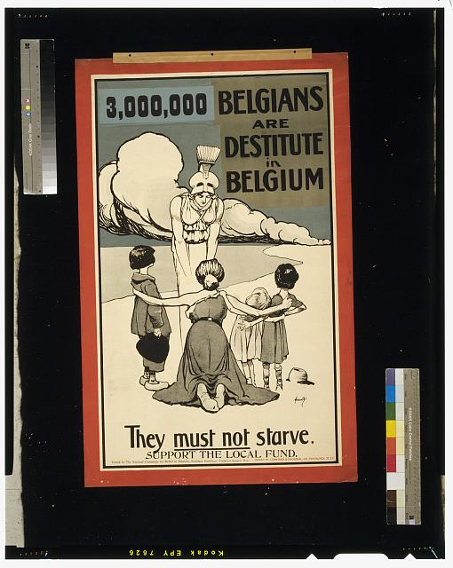 3,000,000 Belgians are destitute in Belgium. They must not starve. Support the local fund