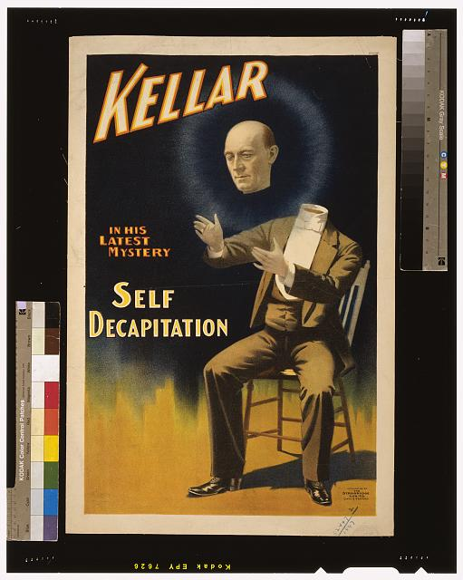 Kellar in his latest mystery