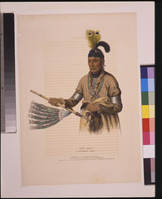 Naw-kaw, a Winnebago chief
