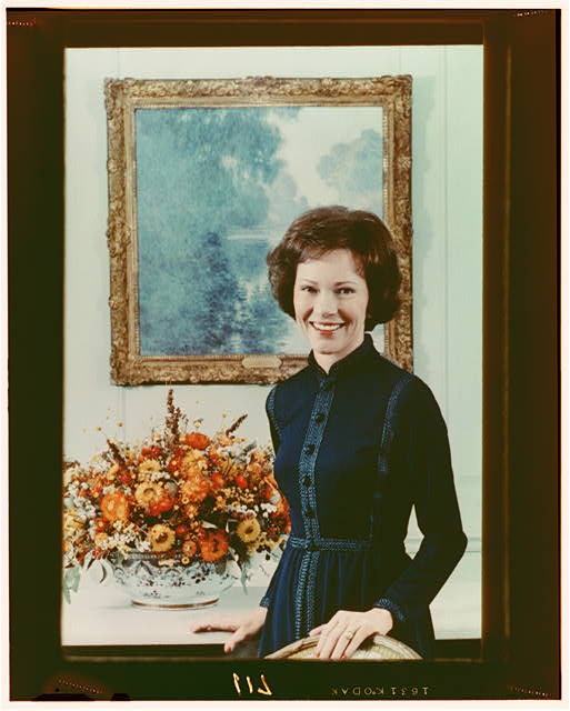 [Mrs. Jimmy Carter, half-length portrait, standing, facing front]