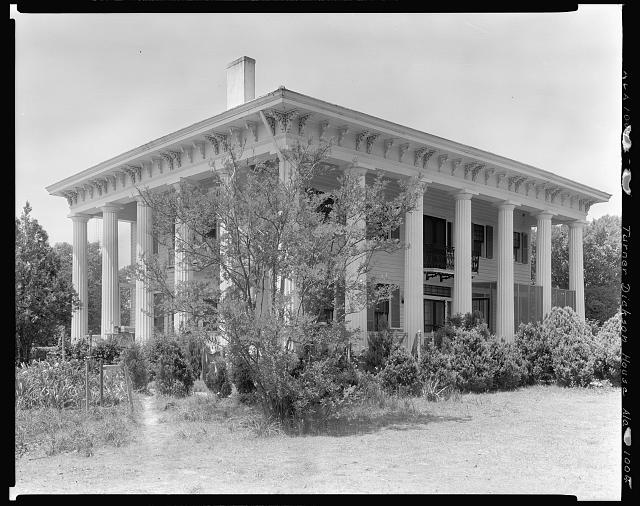Turner-Dickson House, Lowndesboro vic., Lowndes County, Alabama