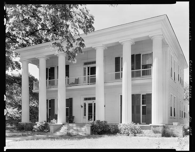 Cartright House, Tuskegee, Macon County, Alabama