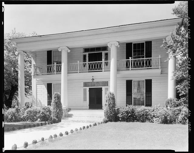 Cobb House, 504 E. Main St., Tuskegee, Macon County, Alabama