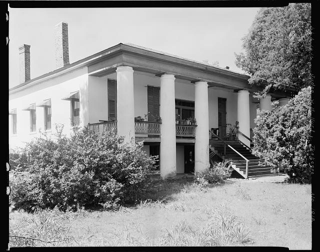 Judge W.H. Hurt house & office, Tuskegee vic., Macon County, Alabama