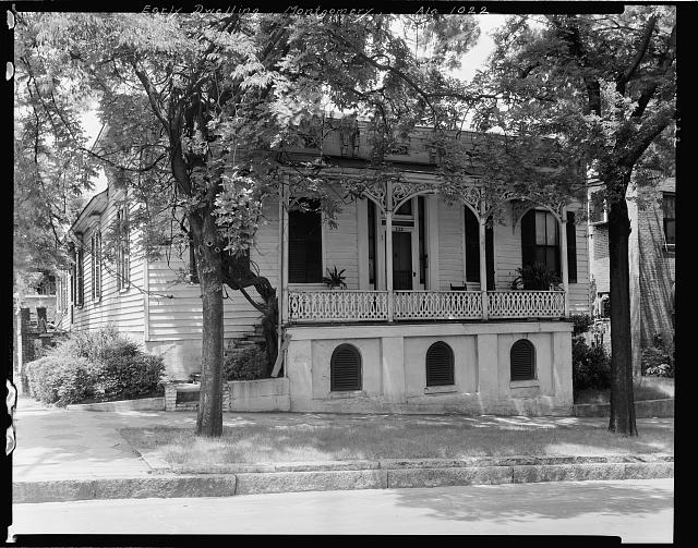 Early Dwelling, 222 S. Perry St., Montgomery, Montgomery County, Alabama