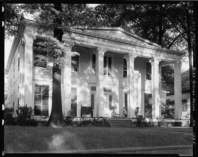 Bibb Graves House, 511 S. McDonough at High St., Montgomery, Montgomery County, Alabama