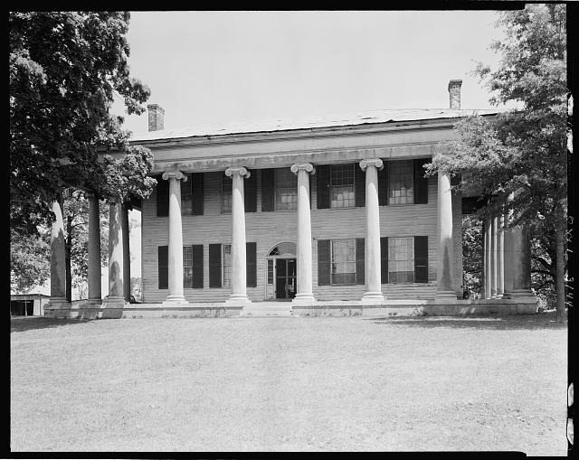 James Jackson House, Florence vic., Lauderdale County, Alabama