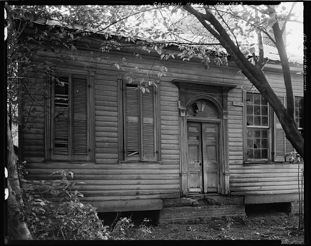 Campbell House, Courtland, Lawrence County, Alabama