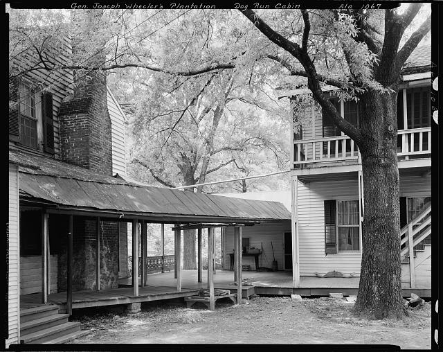 Gen. Joe Wheeler Houses and Cabin, Wheeler Station, Lawrence County, Alabama
