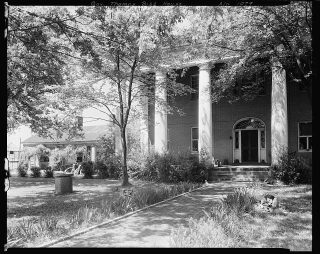 Gov. Thomas Bibb House, Bella Mina, Limestone County, Alabama