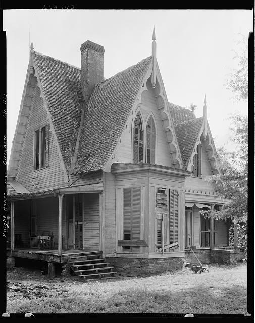 Knight House, Greensboro vic., Hale County, Alabama