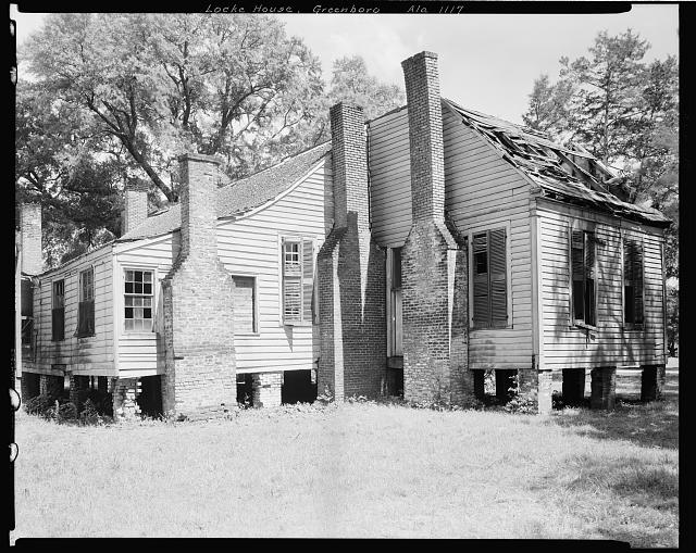 Gayle-Locke House, University Ave., University Ave., Greensboro, Hale County, Alabama