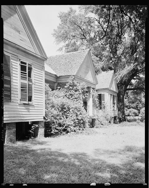 Gayle-Locke House, University Ave., Greensboro, Hale County, Alabama