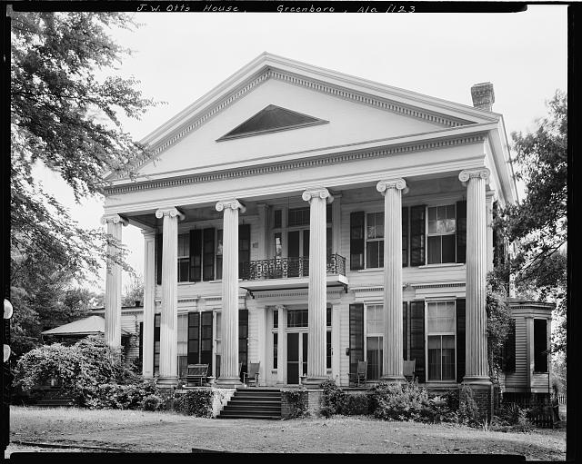 J.W. Otts House, Rosemont St., Greensboro, Hale County, Alabama