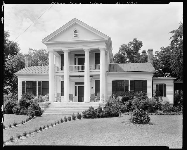 Dan Kenan House, Selma vic., Dallas County, Alabama