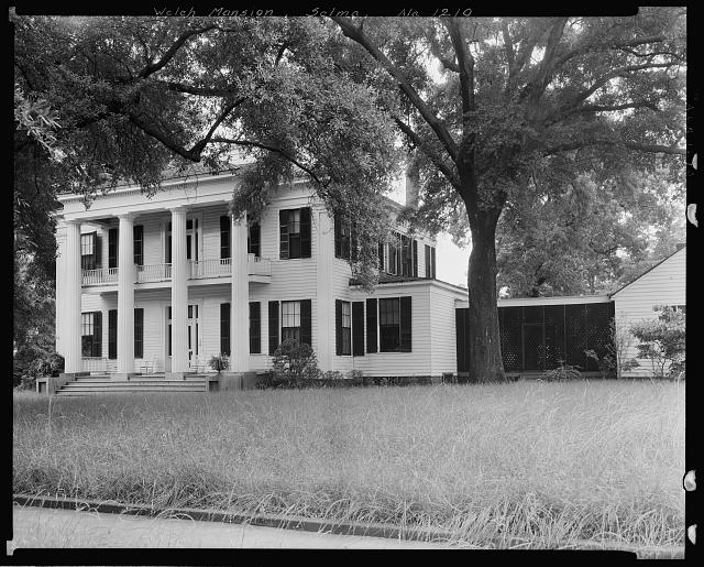 W.P. Welch Mansion, 607 Union St., Selma, Dallas County, Alabama
