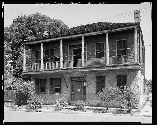Gliddon House, 400 St. Anthony St., Mobile, Mobile County, Alabama