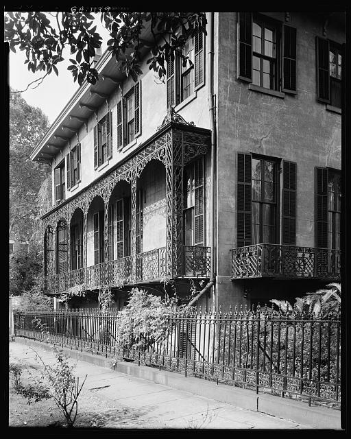 Low House, 325 Abercorn Street, Savannah, Chatham County, Georgia