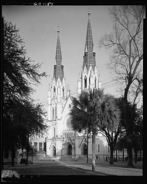 Catholic Cathedral, Savannah, Chatham County, Georgia