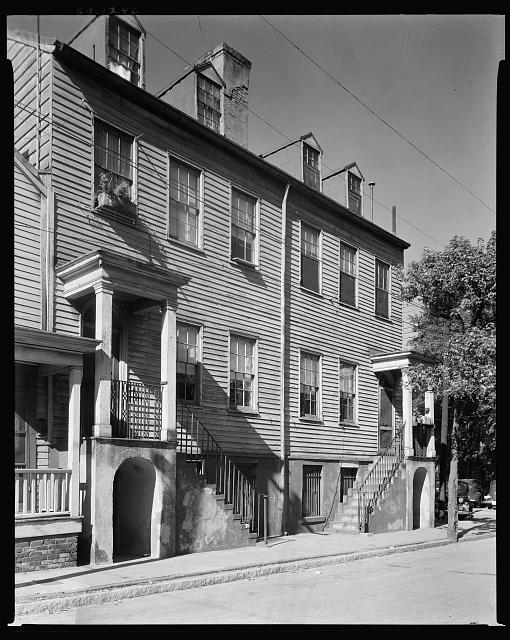 Richard Dennis Tenements, 25-27 Lincoln Street, Savannah, Chatham County, Georgia