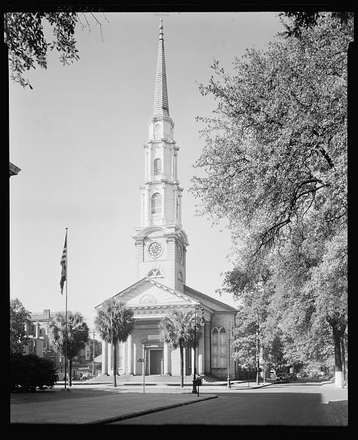 Independent Presbyterian Church, Savannah, Chatham County, Georgia