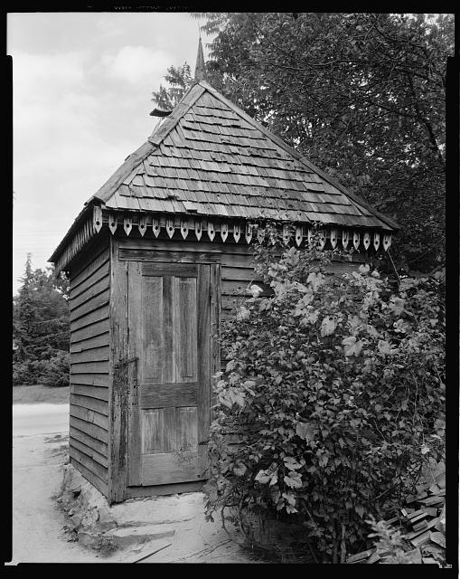 Privy - Great Chimney House, Lexington, Oglethorpe County, Georgia