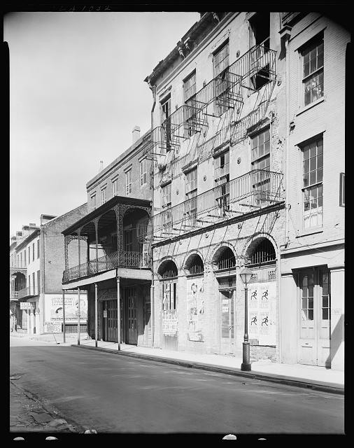 Dufilho Pharmacy, 512 Chartres St., New Orleans, Orleans Parish, Louisiana