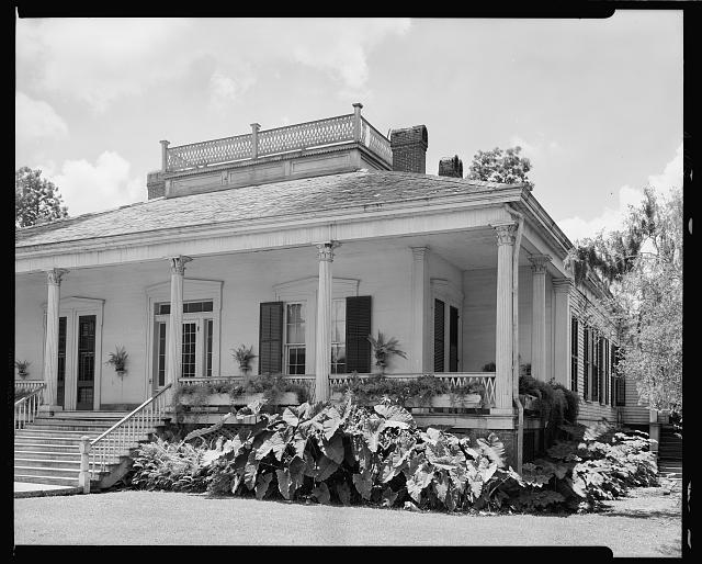 Matthew Bell house, Franklin, St. Mary Parish, Louisiana