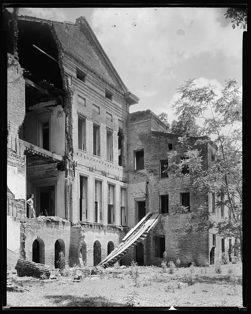 Belle Grove, rear, White Castle vic., Iberville Parish, Louisiana