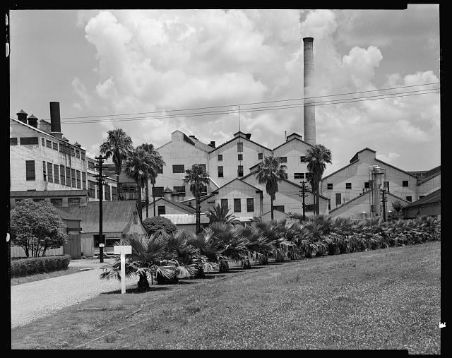 Godchaux sugar refinery, Reserve, St. John the Baptist Parish, Louisiana