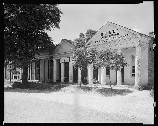 Lawyers' Row, Clinton, E. Feliciana Parish, Louisiana